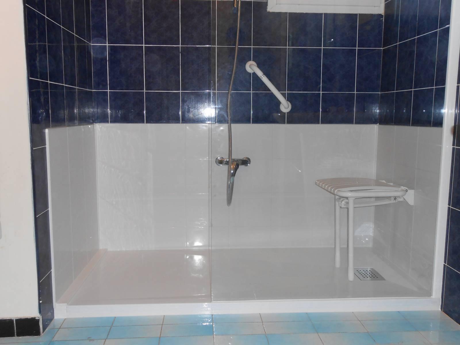 Installation douche sénior securisée à Meaux en Seine et Marne (19