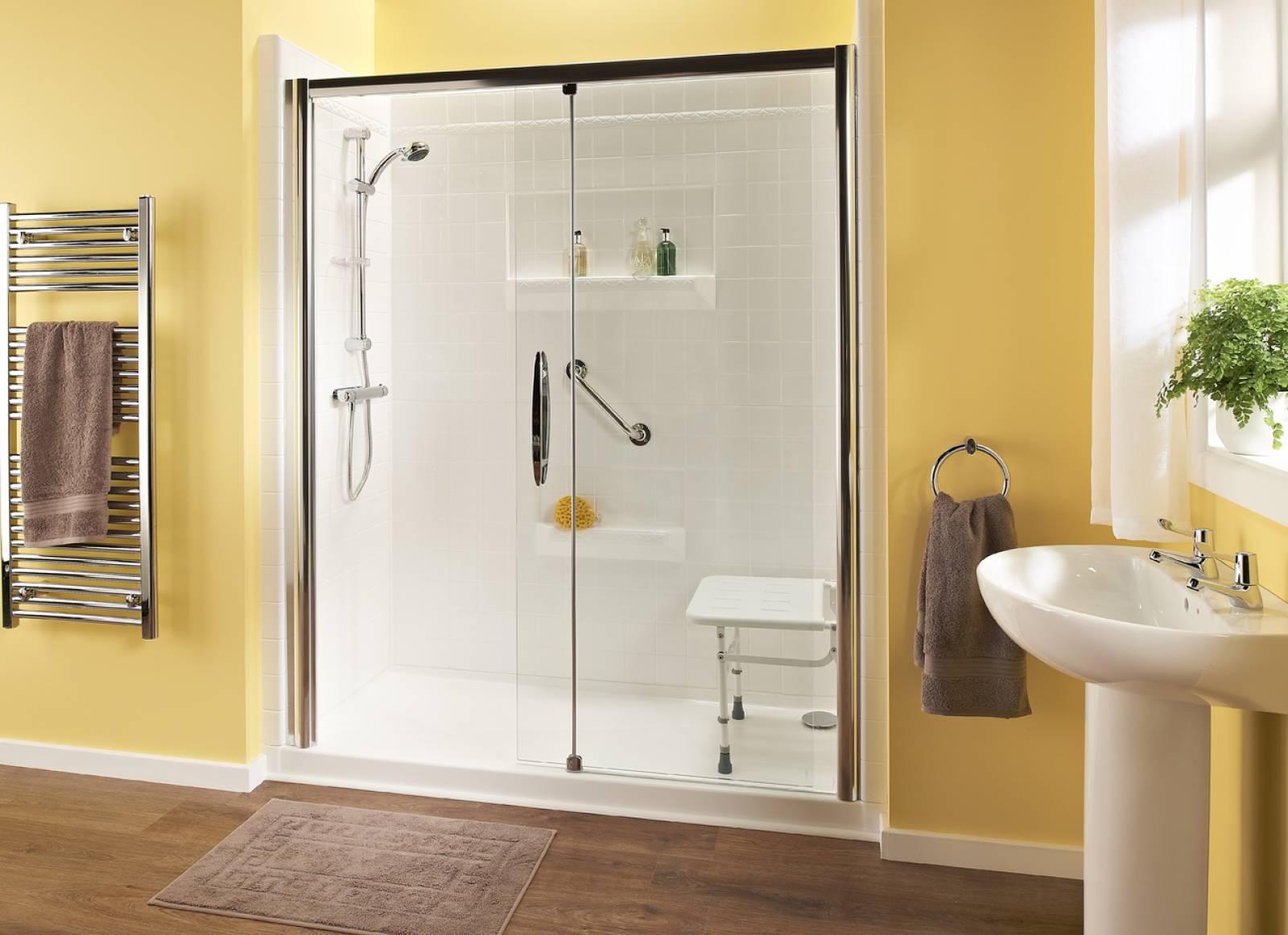 Remplacement de baignoire par douche senior et pour personne agée