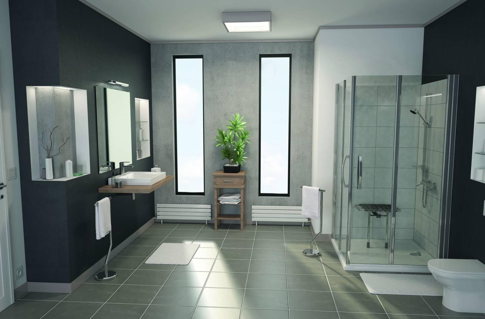 Cabine Salle De Bain Complete quelles aides pour l'aménagement de salle de bain pour