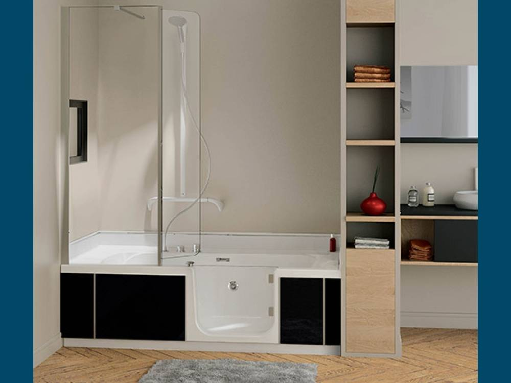 baignoire douche kinedo rnovation salle de bain annecy le vieuxk with baignoire douche kinedo. Black Bedroom Furniture Sets. Home Design Ideas
