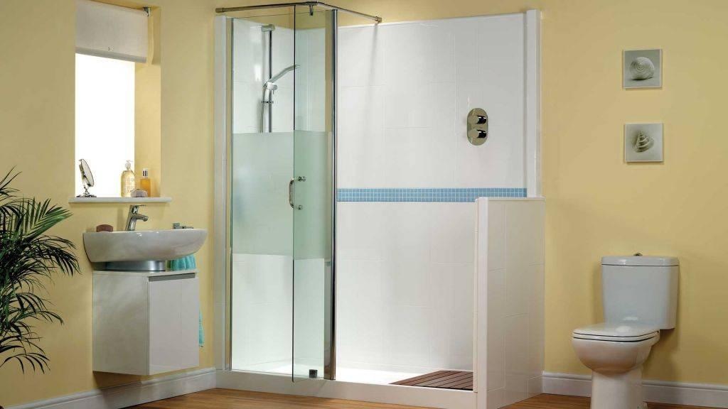 faire poser la douche id ale en remplacement de baignoire. Black Bedroom Furniture Sets. Home Design Ideas