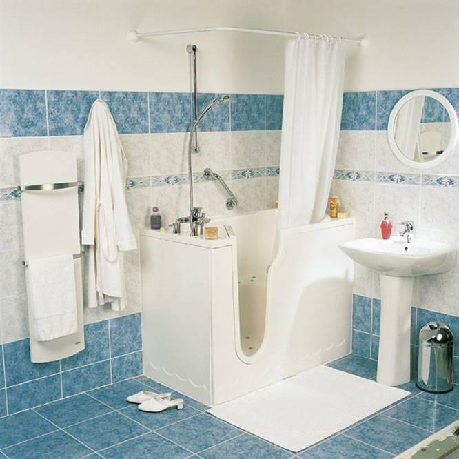Baignoire porte buckingham douche modul 39 eau - Peut on repeindre une baignoire ...