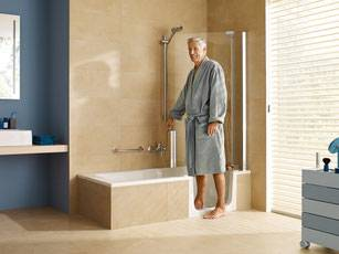 combin bain douche duett artweger douche modul 39 eau. Black Bedroom Furniture Sets. Home Design Ideas