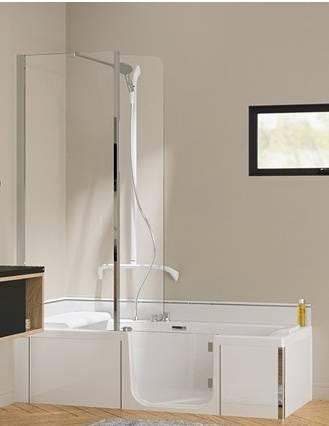 sp cialiste installation baignoire porte combin bain. Black Bedroom Furniture Sets. Home Design Ideas